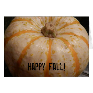 Fall Gourd Greeting Cards