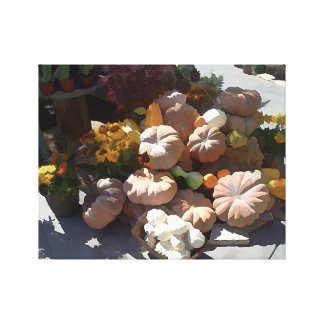 Fall Gourds Canvas Print