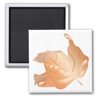 Fall Gradident Maple Leaf Magnet