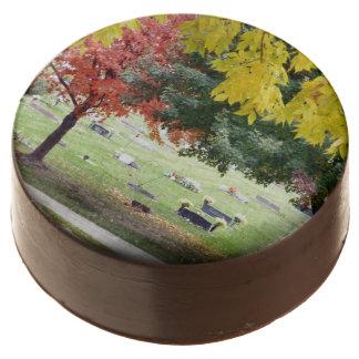 Fall grave yard oreo