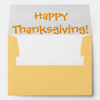 Fall Greeting Card Envelope