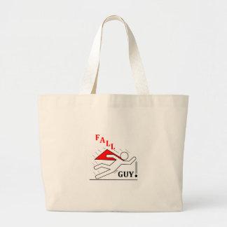 Fall Guy! Large Tote Bag