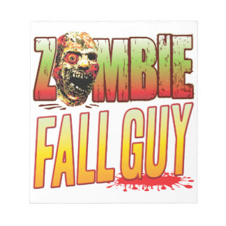 Fall Guy Zombie Head Memo Note Pad