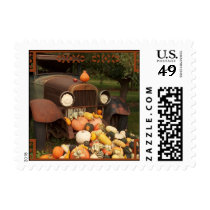 Fall Harvest and Farm Truck Postage