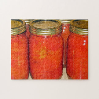 Fall Harvest - canned tomatoes Puzzle