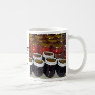 Fall Harvest - canning jams & more Coffee Mug