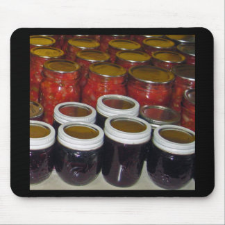 Fall Harvest - canning jams & more Mouse Pad