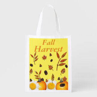 Fall Harvest Grocery Bag