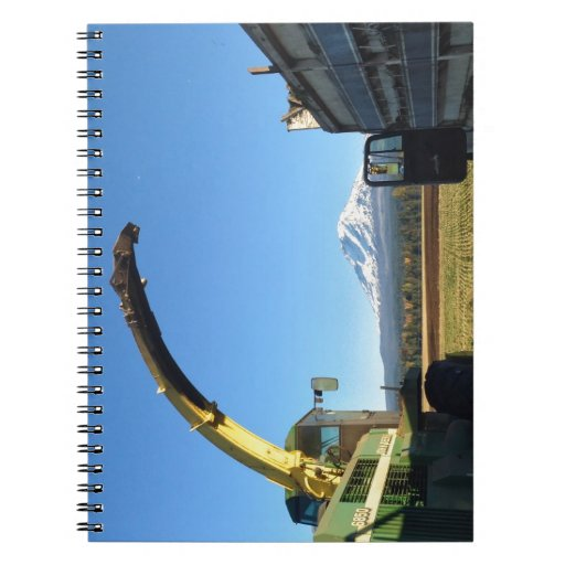 Fall Harvest Heights Notebook