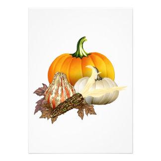 Fall Harvest Invitation Card