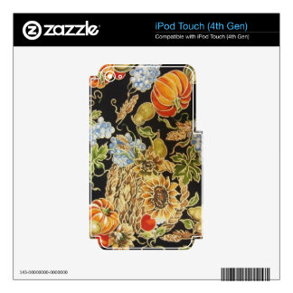Fall Harvest iPod Touch 4G Skin