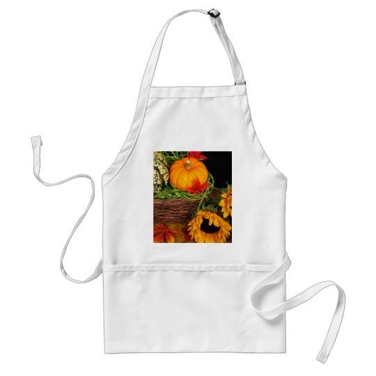 Fall Harvest Sunflowers Adult Apron