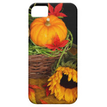 Fall Harvest Sunflowers iPhone SE/5/5s Case