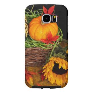 Fall Harvest Sunflowers Samsung Galaxy S6 Case