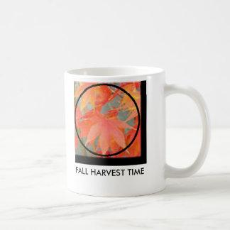 FALL HARVEST TIME CLASSIC WHITE COFFEE MUG