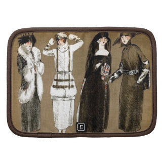 Fall Haute Couture 1920s Illustration Planners