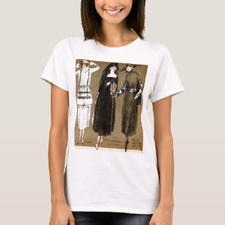 Fall Haute Couture 1920s Illustration T-Shirt