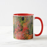 Fall Hillside Colorful Autumn Nature Photography Mug