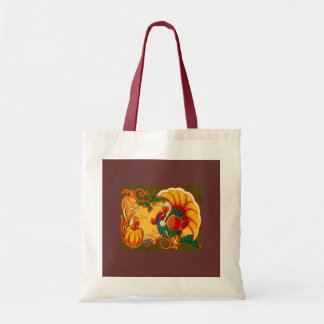 Fall Holiday Tote Bags