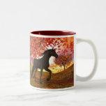 Fall Horse Coffee Mug