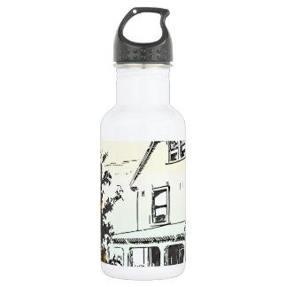 fall house water bottle