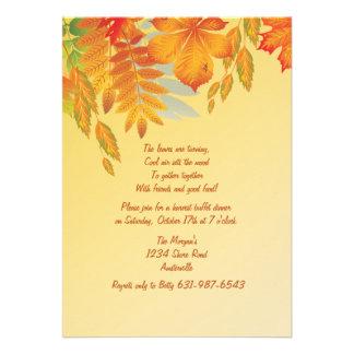 Fall Impression Invitation