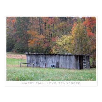 Fall in a Tennessee Field Postcard