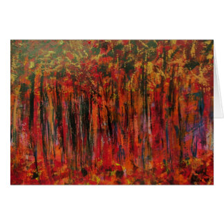 Fall in France Greeting Card