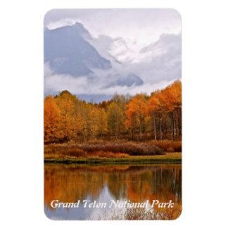 FALL IN GRAND TETON NATIONAL PARK RECTANGULAR PHOTO MAGNET