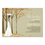 Fall in Love - Autumn Bridal Shower Invitation