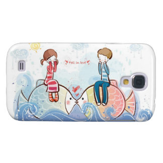 Fall In Love , Cute & Gentle , Cell Phone Case