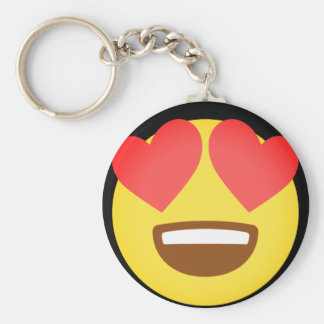Fall In Love Emoji Keychain