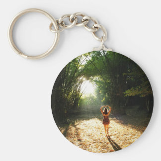 Fall in love keychain