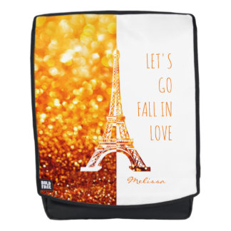 Fall in love Paris | Romantic Eiffel Tower Backpack