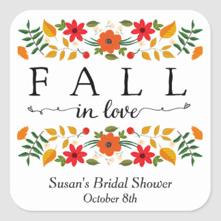 Fall In Love, Personalized Favor Tags