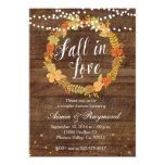 Fall In Love Shower Invitation at Zazzle