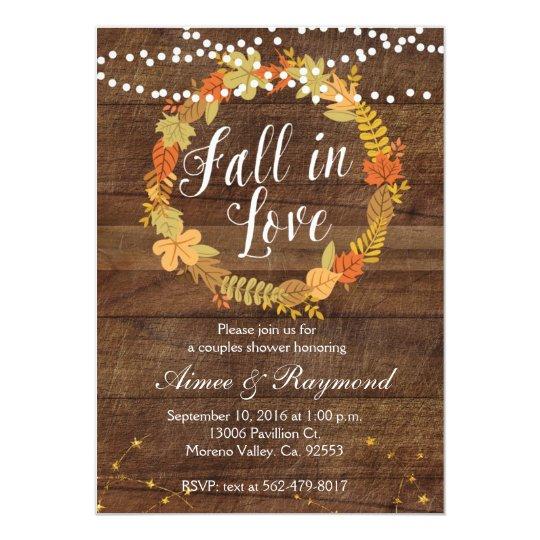 fall in love shower invitation zazzle com