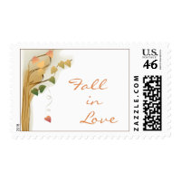 Fall in Love stamps stamp