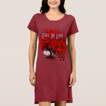 Fall In Love T-shirt Swirls Roots Puzzle Pieces