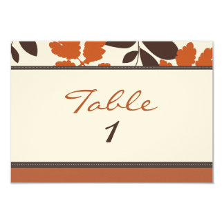 Fall in love table card