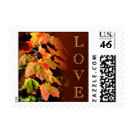 Fall In Love Wedding Postage Stamp stamp