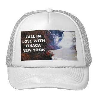 FALL IN LOVE WITH ITHACA cap Trucker Hat