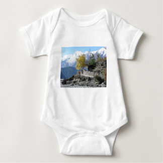 Fall in Nepal picture Baby Bodysuit