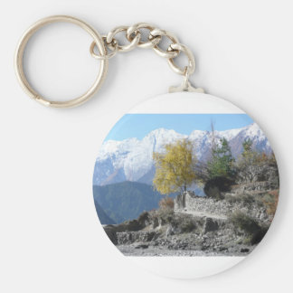 Fall in Nepal picture Keychain