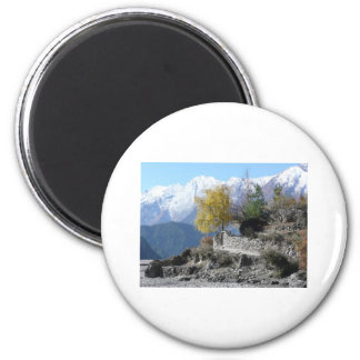 Fall in Nepal picture Magnet