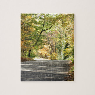 Fall in New England Back Road Jigsaw Puzzles