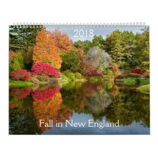 Fall in New England Calendar