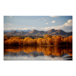 Fall in New Mexico Poster