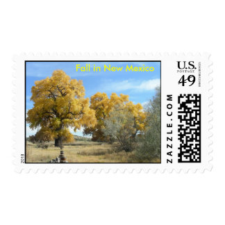 Fall in New Mexico Stamp