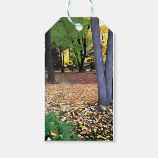 Fall in Ohio Gift Tags
